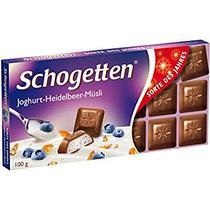 Молочный шоколад Schogetten  Йогурт-Черника-Злаки 100гр