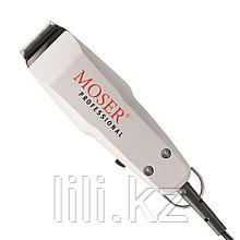 Профессиональная машинка для стрижки с мотором новой конструкции Mozer 1400 ( бело - чёрная)