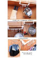 Вешалка крепление универсальное для ванной для кухни для вещей на дверцу