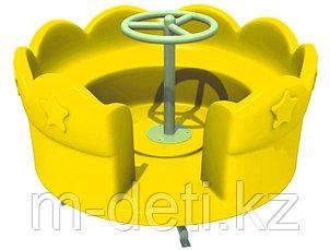 Карусель Ромашка жёлтая HD113 HUADONG