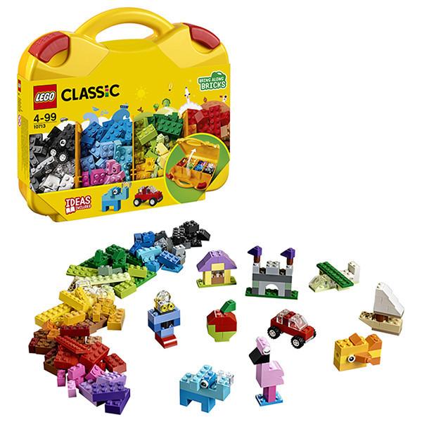 Игрушка Лего Классика (Lego Classic) Чемоданчик для творчества и конструирования
