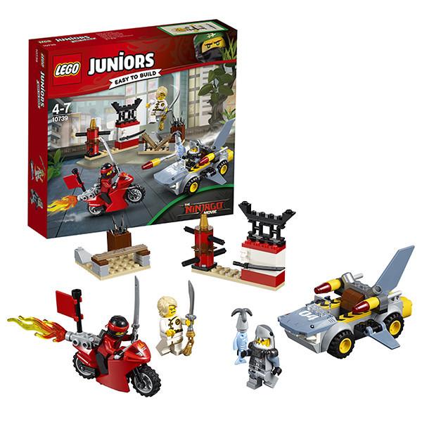 Игрушка Лего Джуниорс (Lego Juniors) Ниндзяго: Нападение акулы™
