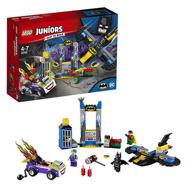 Игрушка Лего Джуниорс (Lego Juniors) Нападение Джокера на Бэтпещеру™