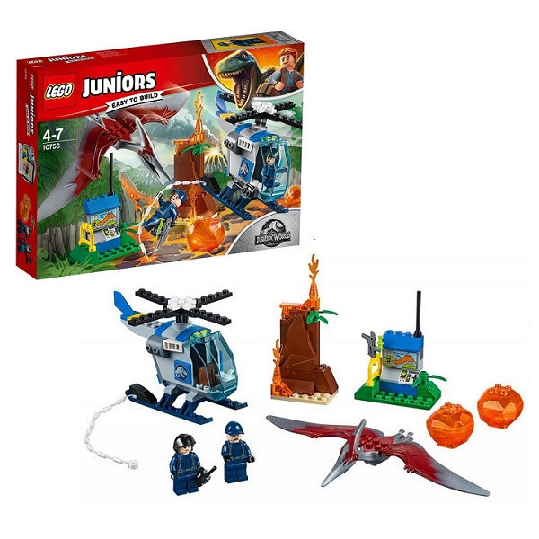 Игрушка Лего Джуниорс (Lego Juniors) Мир Юрского Периода (Jurassic World) Побег птеранодона™