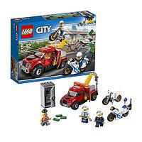Игрушка Лего Город (Lego City) Побег на буксировщике, фото 1