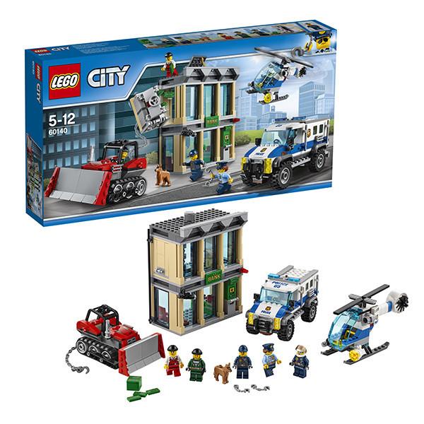 Игрушка Лего Город (Lego City) Ограбление на бульдозере