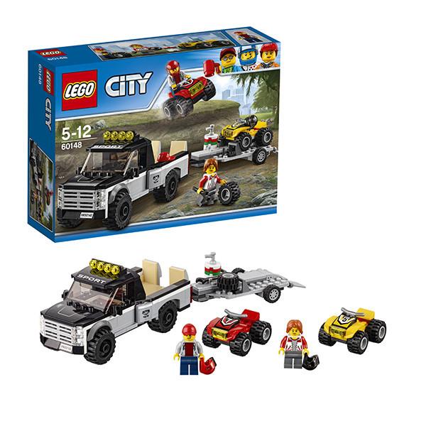 Игрушка Лего Город (Lego City) Гоночная команда