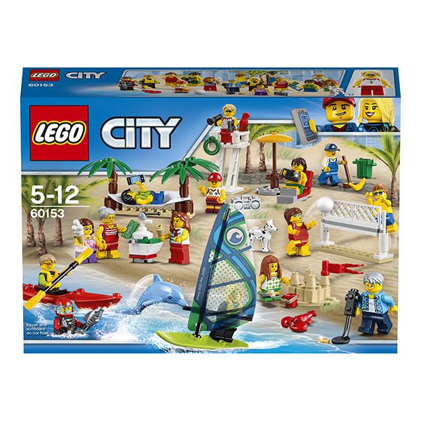 Игрушка Лего Город (Lego City) Отдых на пляже - жители LEGO CITY