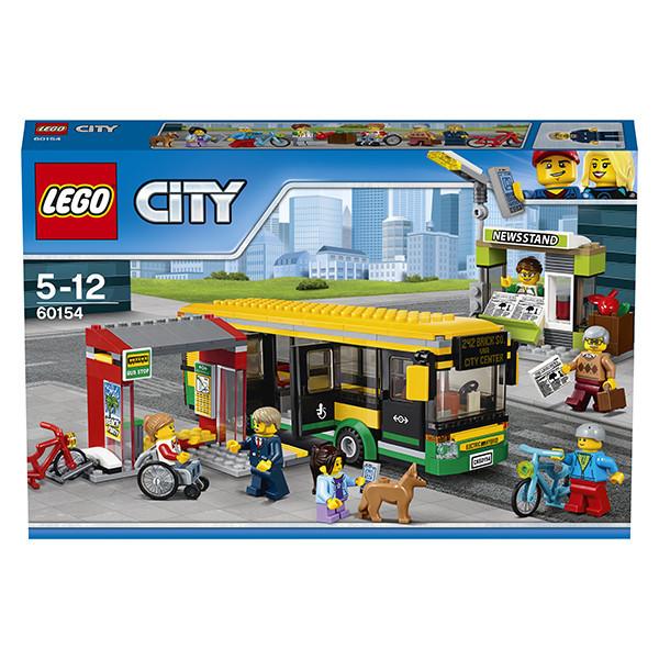 Игрушка Лего Город (Lego City) Автобусная остановка