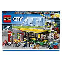 Игрушка Лего Город (Lego City) Автобусная остановка, фото 1