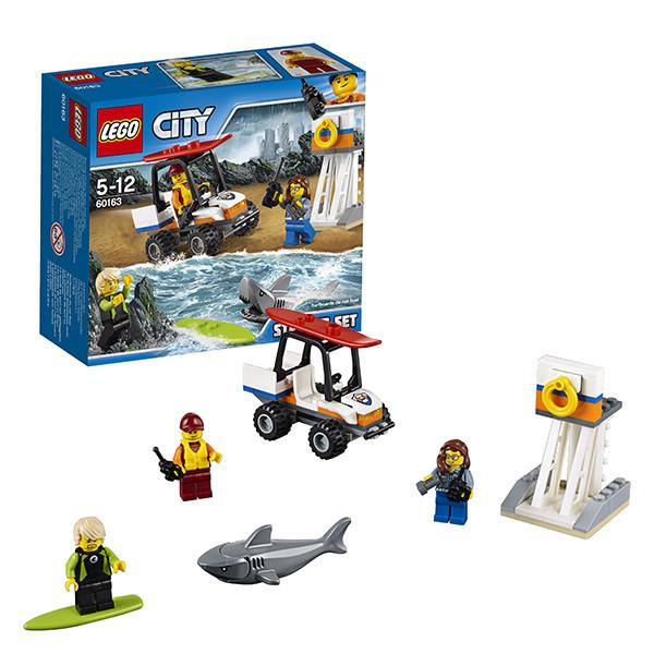 Игрушка Лего Город (Lego City) Набор для начинающих Береговая охрана