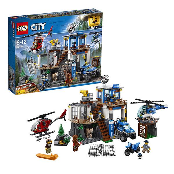 Игрушка Лего Город (Lego City) Полицейский участок в горах