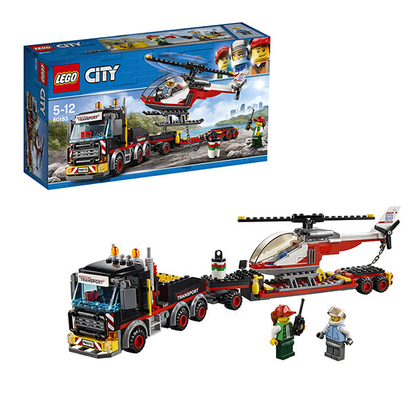 Игрушка Лего Город (Lego City) Перевозчик вертолета