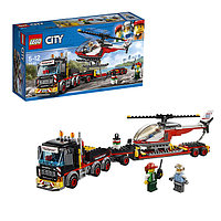Игрушка Лего Город (Lego City) Перевозчик вертолета, фото 1