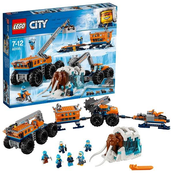 Игрушка Лего Город (Lego City) Арктическая экспедиция Передвижная арктическая база