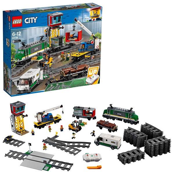Игрушка Лего Город (Lego City) Товарный поезд