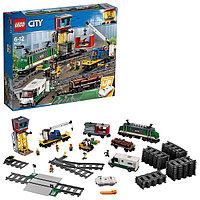 Игрушка Лего Город (Lego City) Товарный поезд, фото 1