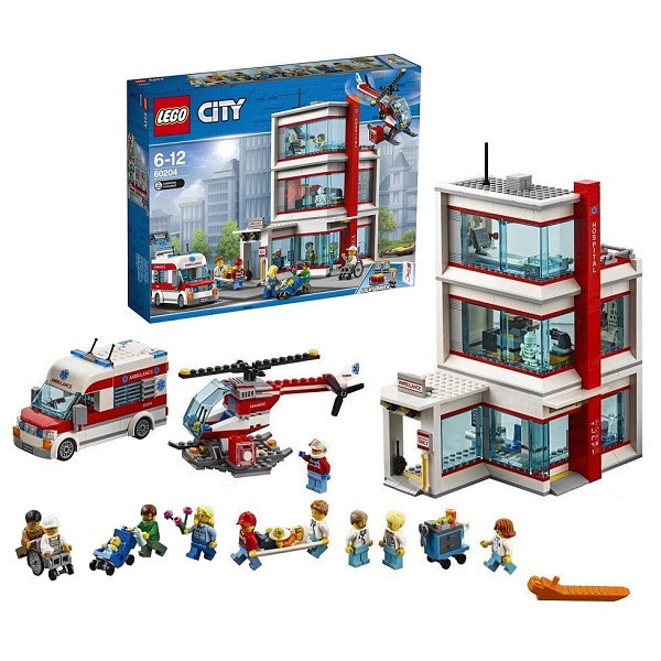 Игрушка Лего Город (Lego City) Городская больница