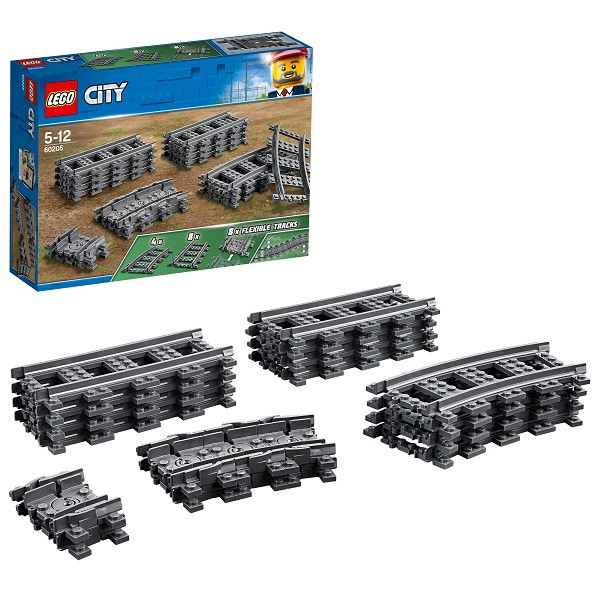 Игрушка Лего Город (Lego City) Рельсы