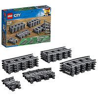 Игрушка Лего Город (Lego City) Рельсы, фото 1