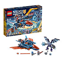 Игрушка Лего Нексо (Lego Nexo Knights) Самолёт-истребитель Сокол Клэя, фото 1