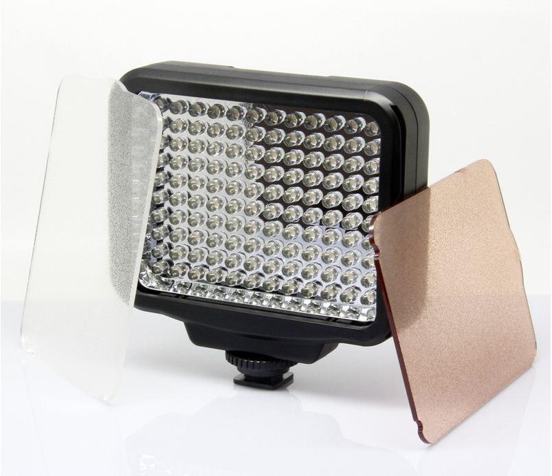 LED-5009 Накамерный  прожектор в комплекте с аккумулятором и зарядкой
