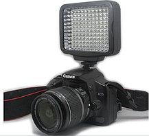 LED-5009 Накамерный  прожектор в комплекте с аккумулятором и зарядкой, фото 2