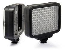 LED-5009 Накамерный  прожектор в комплекте с аккумулятором и зарядкой, фото 3