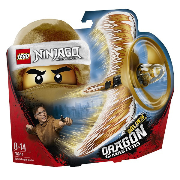 Игрушка Лего Ниндзяго (Lego Ninjago) Хозяин Золотого дракона
