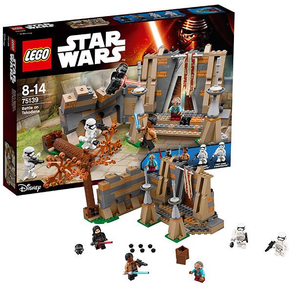 Игрушка Лего Звездные войны (Lego Star Wars) Битва на планете Такодана™