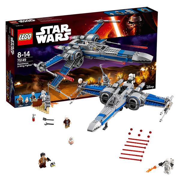 Игрушка Лего Звездные войны (Lego Star Wars) Истребитель Сопротивления типа Икс™