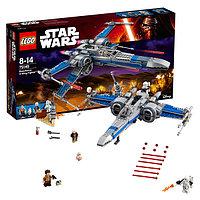 Игрушка Лего Звездные войны (Lego Star Wars) Истребитель Сопротивления типа Икс™, фото 1