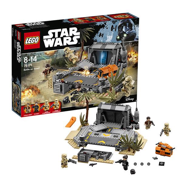 Игрушка Лего Звездные войны (Lego Star Wars) Битва на Скарифе™