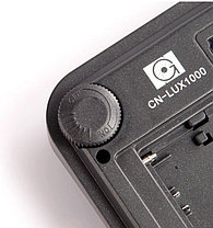 Накамерный прожектор LUX-1000 LED-100 +c аккумулятором и зарядным устройством , фото 3