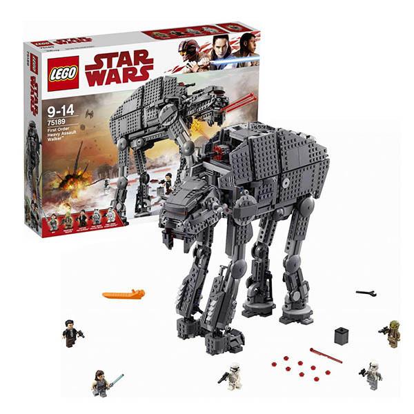 Игрушка Лего Звездные войны (Lego Star Wars) Штурмовой шагоход Первого Ордена™