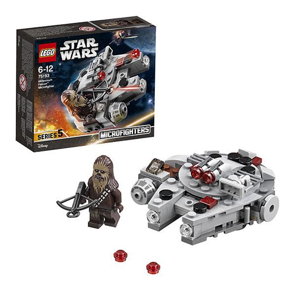 Игрушка Лего Звездные войны (Lego Star Wars) Микрофайтер Сокол Тысячелетия™