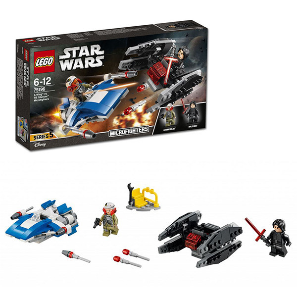 Игрушка Лего Звездные войны (Lego Star Wars) Истребитель типа A против бесшумного истребителя СИД™
