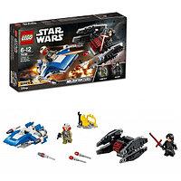 Игрушка Лего Звездные войны (Lego Star Wars) Истребитель типа A против бесшумного истребителя СИД™, фото 1