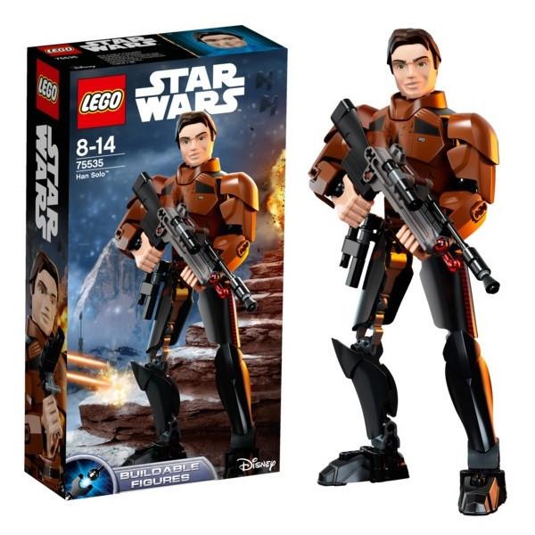 Игрушка Лего Звездные войны (Lego Star Wars) Хан Соло™
