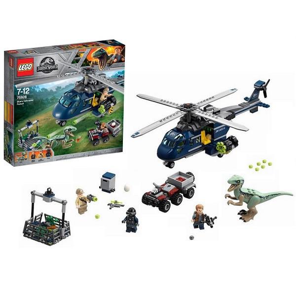 Игрушка Лего Мир Юрского Периода (Lego Jurassic World) Погоня за Блю на вертолёте™