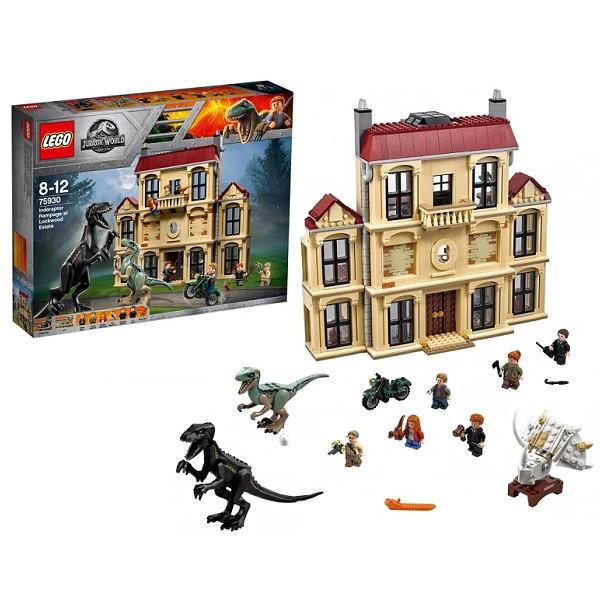 Игрушка Лего Мир Юрского Периода (Lego Jurassic World) Нападение индораптора в поместье™