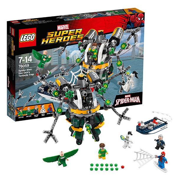 Игрушка Лего Супер Герои (Lego Super Heroes) Человек-паук™ : В ловушке Доктора Осьминога™