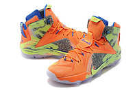 Кроссовки Nike LeBron XII (12) Orange Green Elite Series (40-46), фото 2