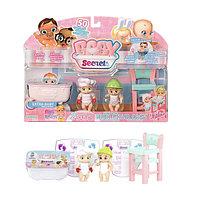 Игрушка BABY Secrets Набор с детским стульчиком, блистер, фото 1