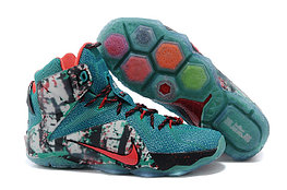 Кроссовки Nike LeBron XII (12) Blue Ice Elite Series (40-46)