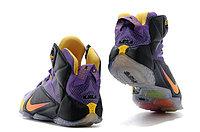 Кроссовки Nike LeBron XII (12) Violet Black Gold Elite Series (40-46), фото 5