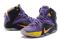 Кроссовки Nike LeBron XII (12) Violet Black Gold Elite Series (40-46), фото 2