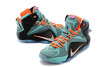 Кроссовки Nike LeBron XII (12) Jade Orange Elite Series (40-46), фото 2