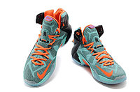 Кроссовки Nike LeBron XII (12) Jade Orange Elite Series (40-46), фото 3