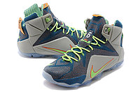 Кроссовки Nikе LeBron XII (12) Blue Orange Elite Series (40-46), фото 2